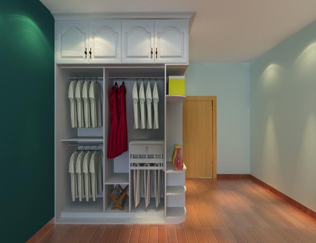 定制衣柜内部效果图